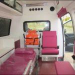 Mercedes Benz Vito 119 Ambulance Inside