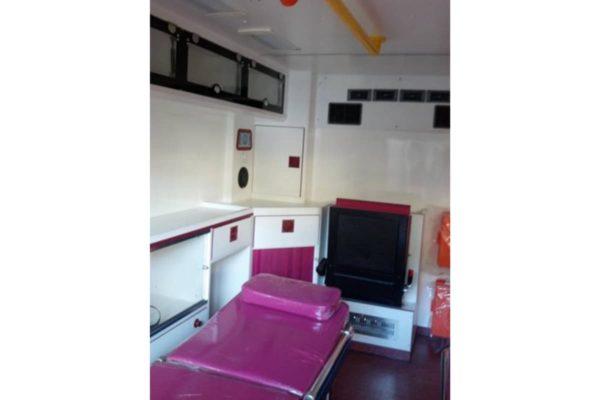 Toyota Land Cruiser Ambulance Inside