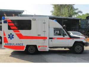 Toyota Land Cruiser Box Ambulance