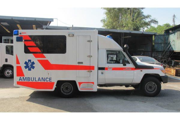 Toyota Land Cruiser Box Ambulance