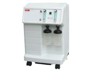 Crystal 5-8-2 Oxygen Concentrator Dual Flow Braun