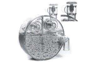 compact circle absorber braun