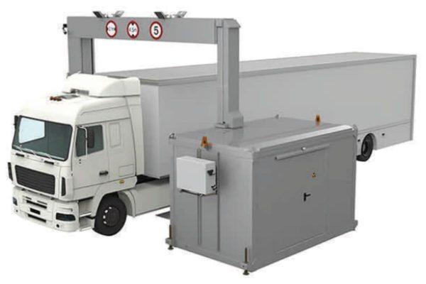 Re-locatable Drive Through Cargo Scanner