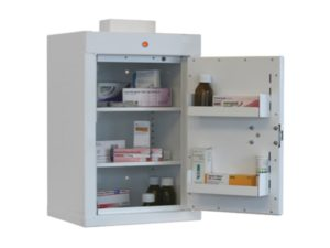 Controlled Drug Cupboard with Warning Light 2
