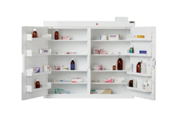 Controlled Drug Cupboard with Warning Light 3