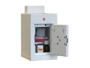 Controlled Drug Cupboard with Warning Light