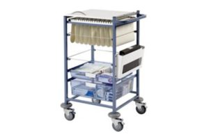 Medical Notes and Transfer Trolley
