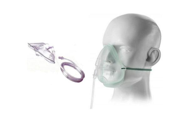 Oxygen Mask - Plain - Disposable