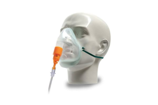 Oxygen Venturi Masks with Fixed Oxygen Connection