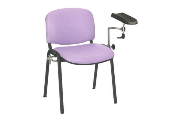 Phlebotomy Chair Upholstered in Vinyl