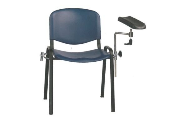Phlebotomy Chair with Moulded Seat and Back