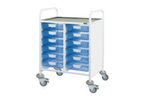 Procedure Cart With Anti Static Braked Castors 2