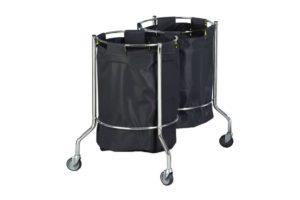 Soiled Linen Trolley - Double Bag