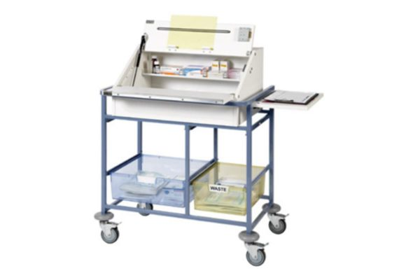 Ward Drug and Medicine Dispensing Trolley