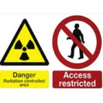 Warning Sign – Self Adhesive Rigid PVC
