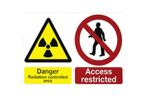 Warning Sign - Self Adhesive Rigid PVC