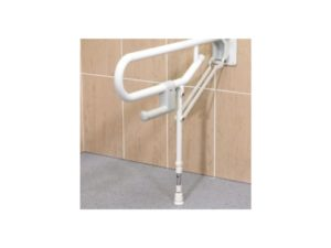 Support Rail - Fold Up Double With Adjustable Leg