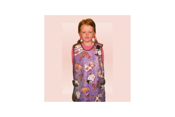 Lead Apron - Children's Shoulder Clip Lightweight