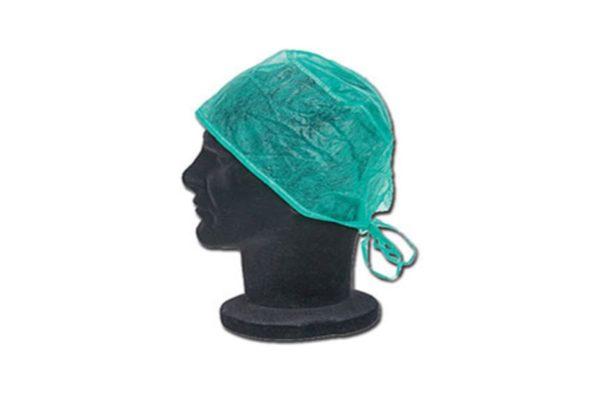 Green Surgeons' Caps - Box of 1,000