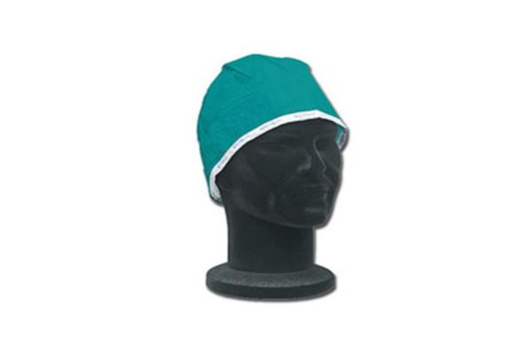 Green Surgeons' Caps - pack of 10