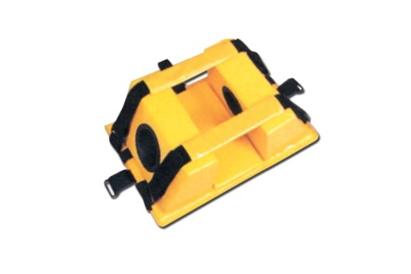 Head Immobiliser - PE Foam Covered with Vinyl