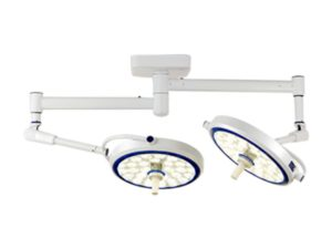 LED Ceiling Mounted Operating Lamp - Dual Head