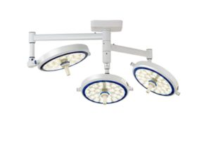 LED Ceiling Mounted Operating Lamp - Triple Head