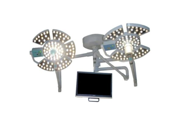 LED Operating Light with Camera and Monitor