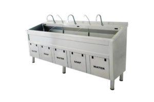 Surgical Scrub Sink - Triple