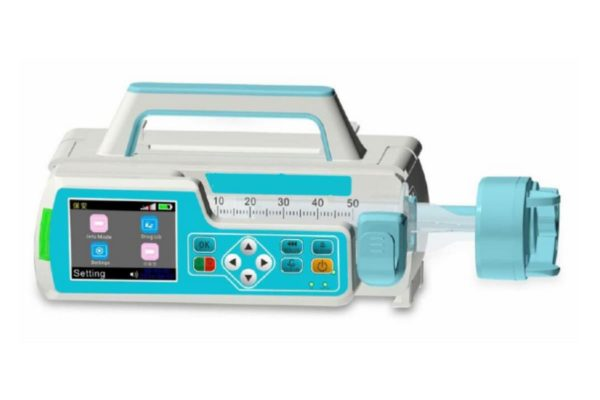 Syringe Pump - Compact, Lightweight and Stackable
