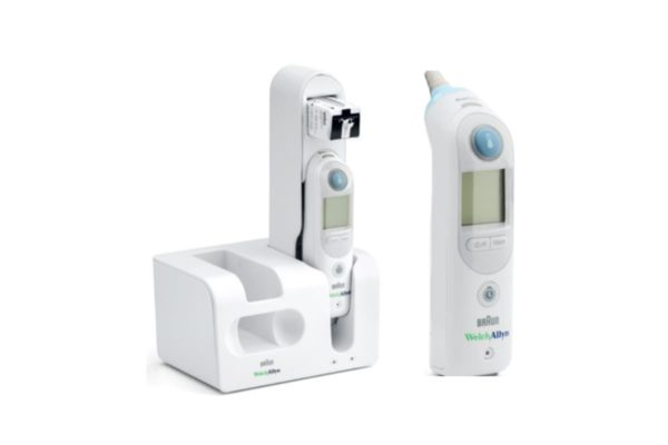 Thermometers - Braun Pro 6000 Thermoscan With Large Cradle and Charging Station