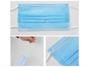 4-ply antibacterial surgical masks