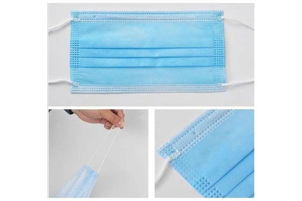 4-ply antibacterial surgical masks - Type II